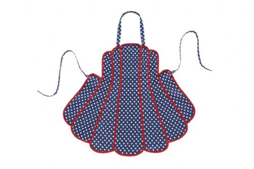 Betty Panelled Apron by Belle Textiles